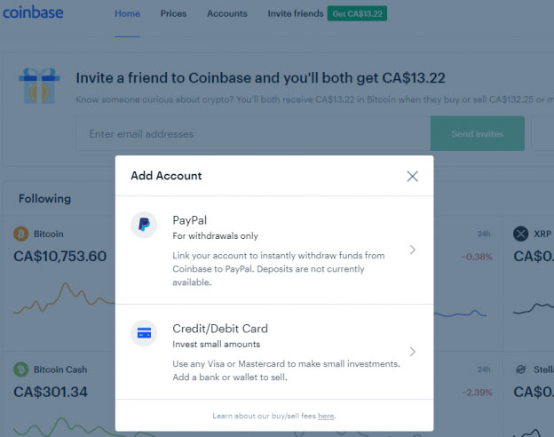 coinbase-crypto-exchange-deposit-payment-methods