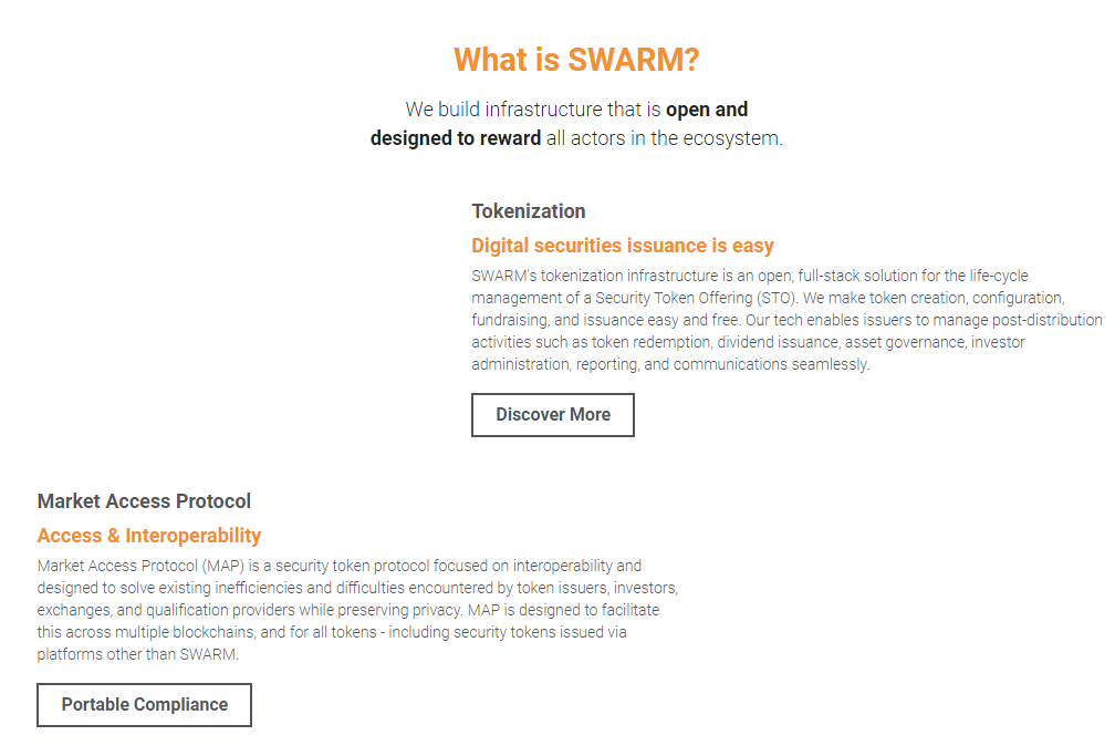 Swarm Fund - digitale værdipapirer